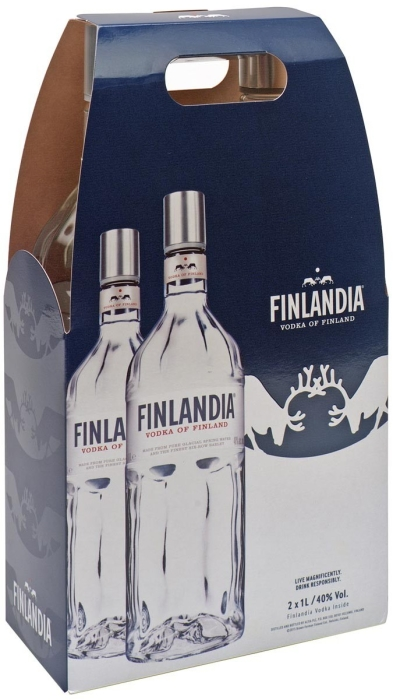 Finlandia Vodka Set 2x1L