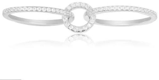 APM Monaco Limited Edition Glamour Silver Ring