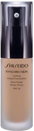 Shiseido Synchro Skin Lasting Liquid Foundation N3 Neutral 30ml