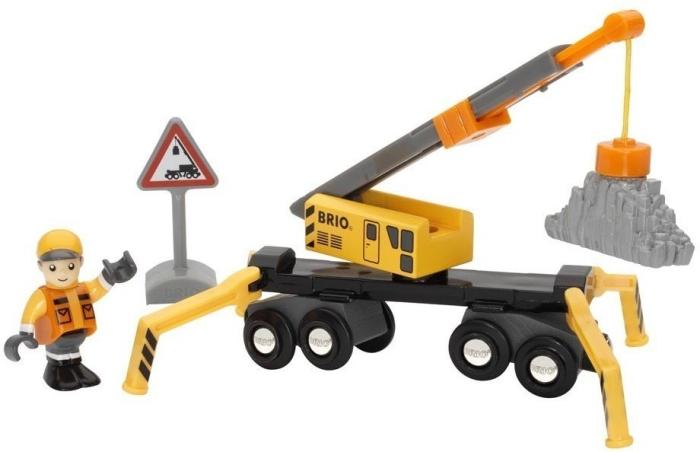 BRIO Wooden Toy 33734 Megacrane Kit