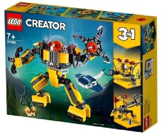 LEGO Creator, underwater robot