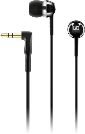 Sennheiser CX 1.00 In-Ear Headphone - Black 10 g