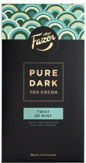 Fazer Pure Dark Twist Of Mint 95g