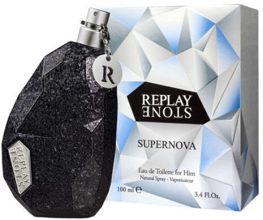 Replay Stone Supernova For Him 100ml