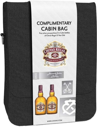 Chivas Regal 12 YO Cabin Bag 2x1L