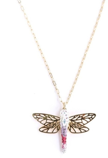 Swarovski Dragonfly Pendant Necklace 5005852