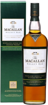 The Macallan Select Oak 40% Whisky 1L