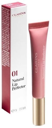 Clarins Natural Lip Perfector Lip Gloss N° 1 rose shimmer 80057062 12ML