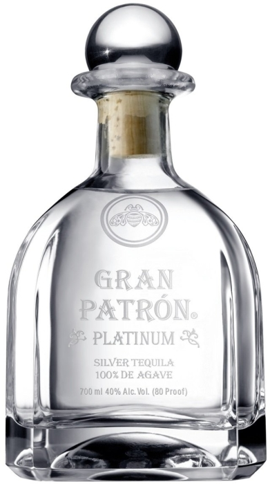 """""""Grand Patron"""" Platinum Tequila 0.7L"""
