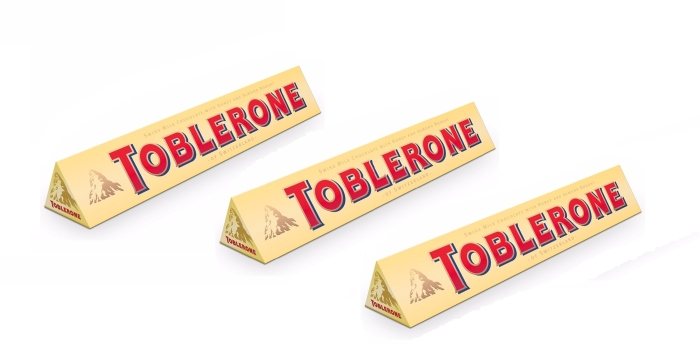 Toblerone Gold 3x360g