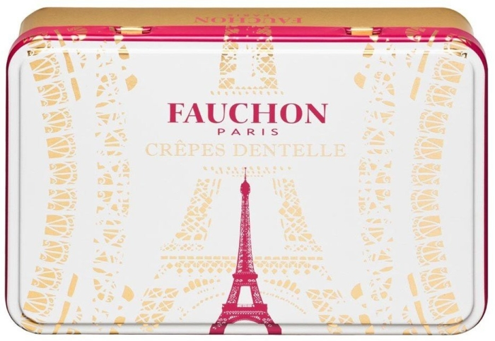Fauchon Crepes Dentelles crunchy biscuits with chocolate 80g