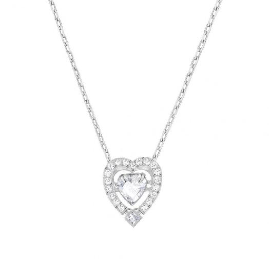 Swarovski Sparkling Dance Heart Necklace