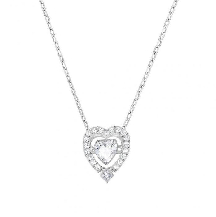 Swarovski Sparkling Dance Heart Necklace