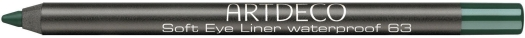 Artdeco Soft Eye Liner Waterproof N63 Emerald 1.2g
