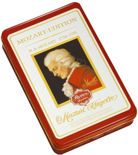 Reber Mozart Luxury Tin Edition 480g