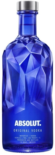 Absolut Vodka Blue Facet 1L