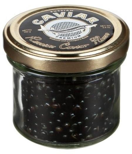 "Russian Caviar House Sturgeon caviar ""Premium"" 50g"