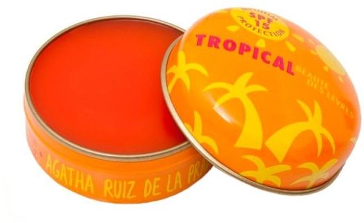 Agatha Ruiz de la Prada Fruit Fragranced Lip Balm Tropical 15ml