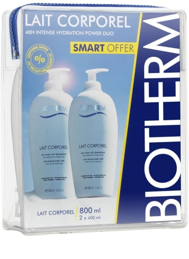 Biotherm Body Care Moisturizing Lait Сorporel Duo Set 2x400ml