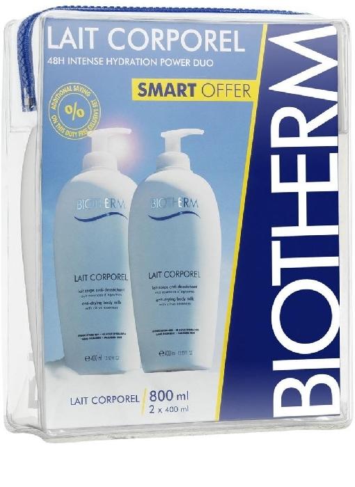 Biotherm Body Care Moisturizing Lait Сorporel Duo Set 2x400ml