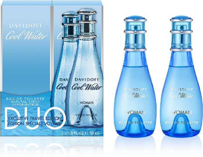 Davidoff Cool Water For Women Duo Set 2x30ml