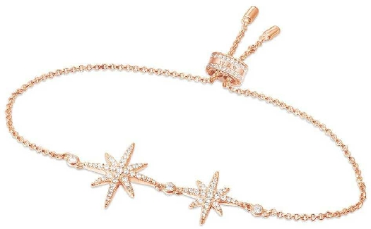 APM Monaco Double Météorites Bracelet - Pink Silver
