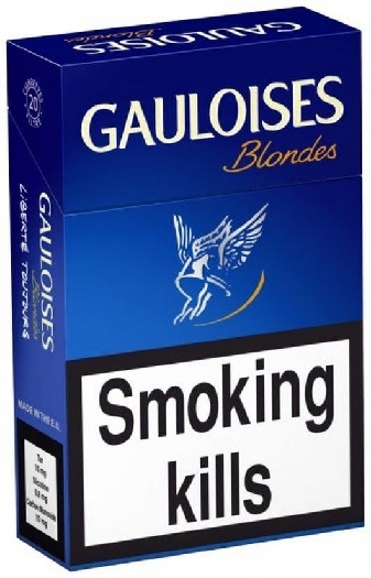 Gauloises Blue 400s Carton (x2)