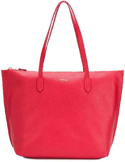 Furla Luce L Tote, Red 1049153