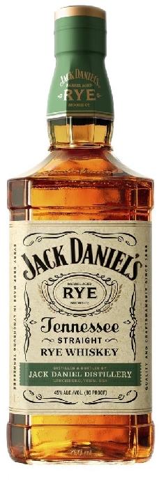 Jack Daniel's Tennessee Rye 45% Whiskey 1L
