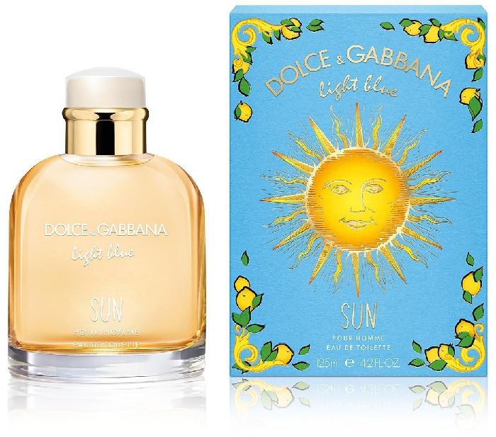 Dolce&Gabbana Light Blue Sun Pour Homme 125ml