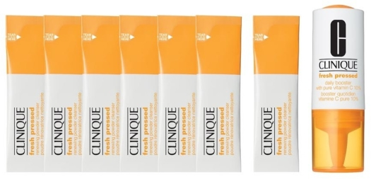 Clinique Fresh Pressed 7-Day System with Pure Vitamin C Set 8.5ml + 0.5g
