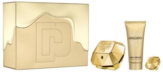 Paco Rabanne Lady Million Set EdP 80ml + 100ml + 5ml