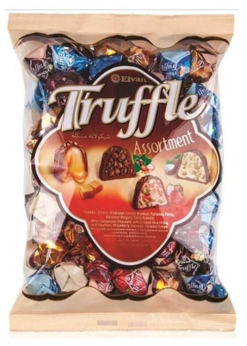 Elvan Truffle Assortment Chocolate 1kg