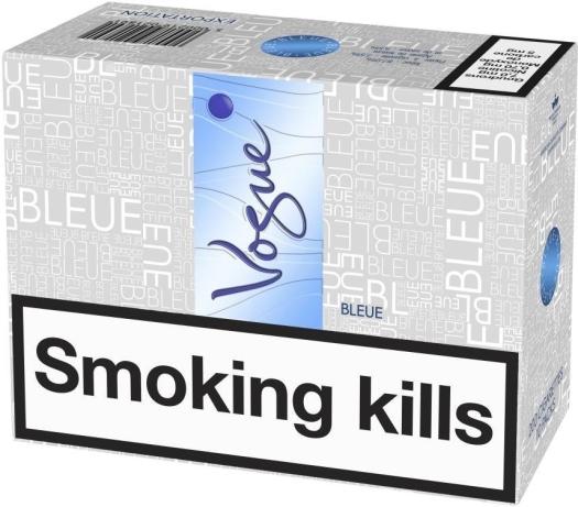 Vogue SSL Bleue 200s Carton