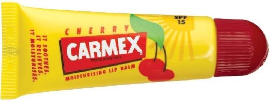 Carmex Cherry Moisturising Lip Balm Tube SPF 15 10g