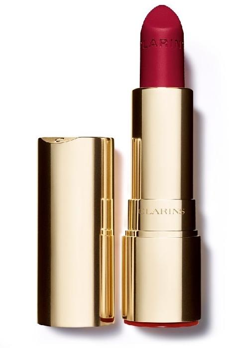 Clarins Joli Rouge Velvet Lipstick #754V - Deep Red 3.5g