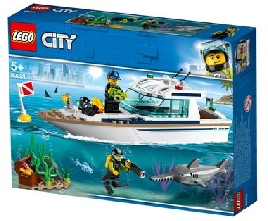 LEGO City Great Vehicles, diving yacht