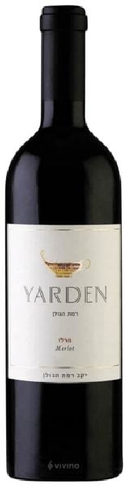 YARDEN Merlot Wine dry red 14.5% 0,75L