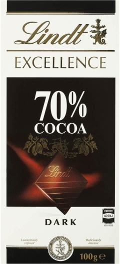 Lindt Excellence 70% 100g