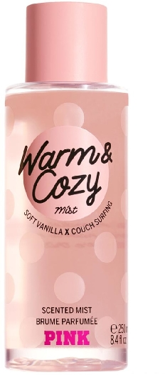 Victoria's Secret Pink Body Warm And Cozy Mist 250ML
