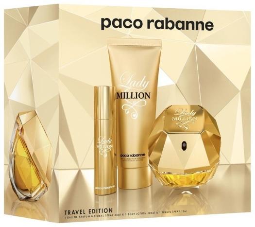 Paco Rabanne Lady Million Set
