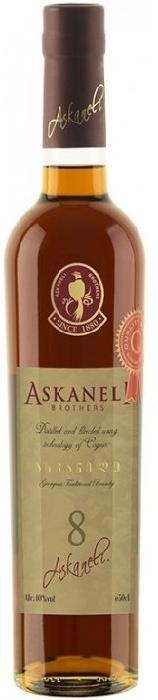 Askaneli Brandy 8 YO 40% 0,5L