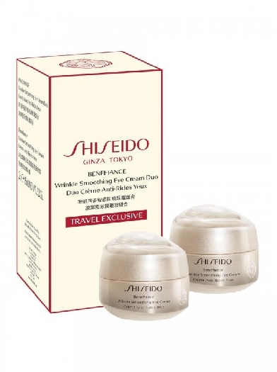 Shiseido Benefiance Eye Cream Duo cont.: 2 x Smoothing Eye Cream (GH 1414332) 16370 1ST