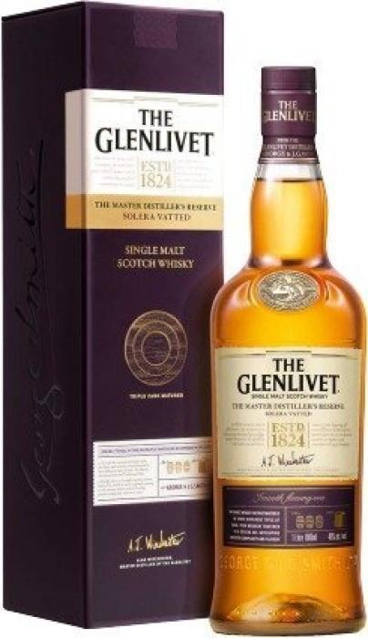 The Glenlivet Master Distiller's Reserve, giftpack 1L