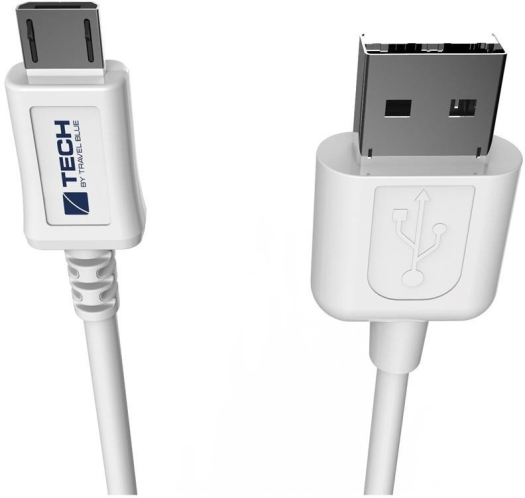 Travel Blue Micro USB 2.0 Data Sync&Charge Cable 966