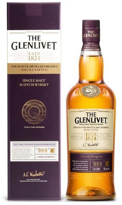 The Glenlivet Master Distiller's Reserve Solera Vatted 1L