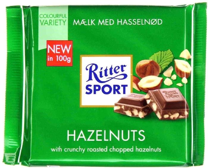 Ritter Sport Hazelnuts 100g