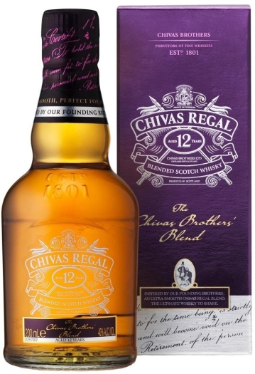 Chivas Brothers' Blend Whiskey 0.2L