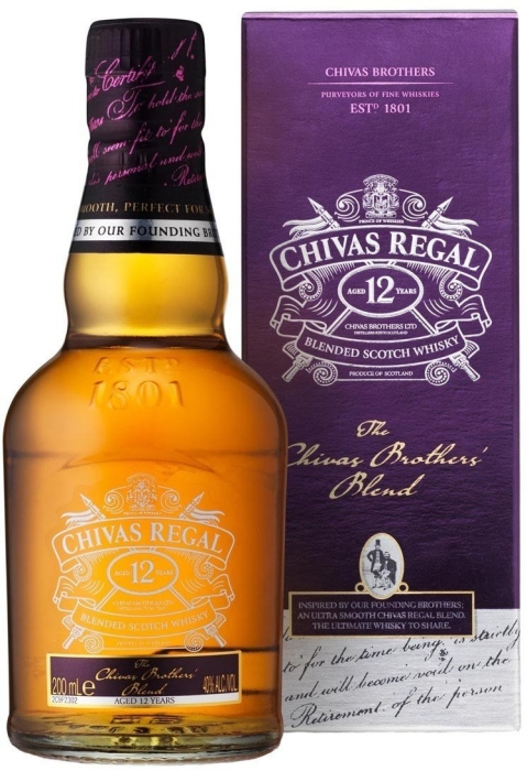 Chivas Brothers' Blend Whiskey 0.2L