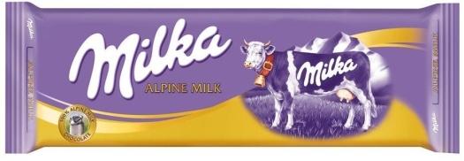 Milka Alpenmilk Chocolate 300g